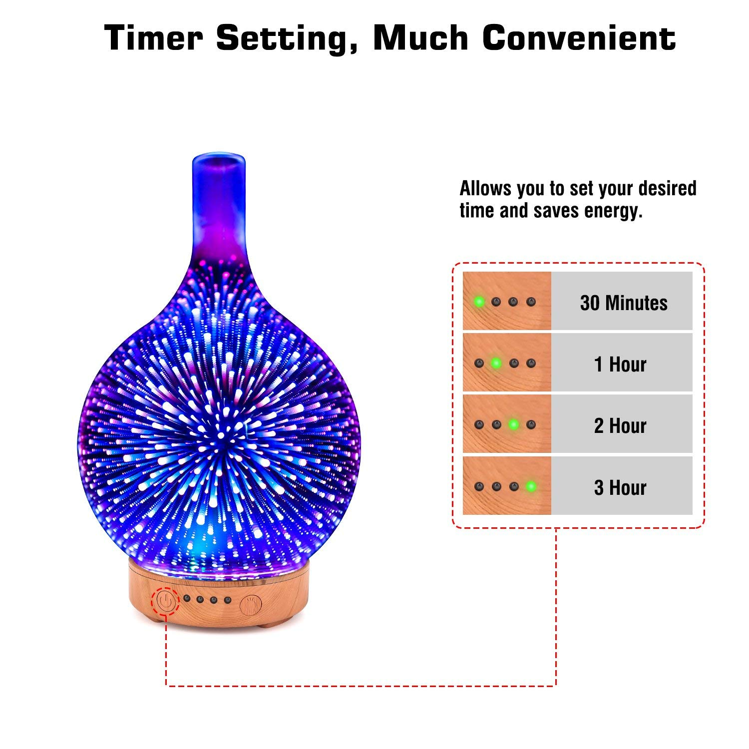 Hidly  3D Aromatherapy Diffusers