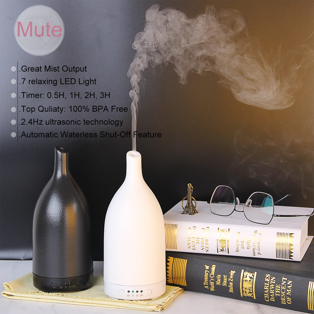HIDLY  ceramic aroma diffusers
