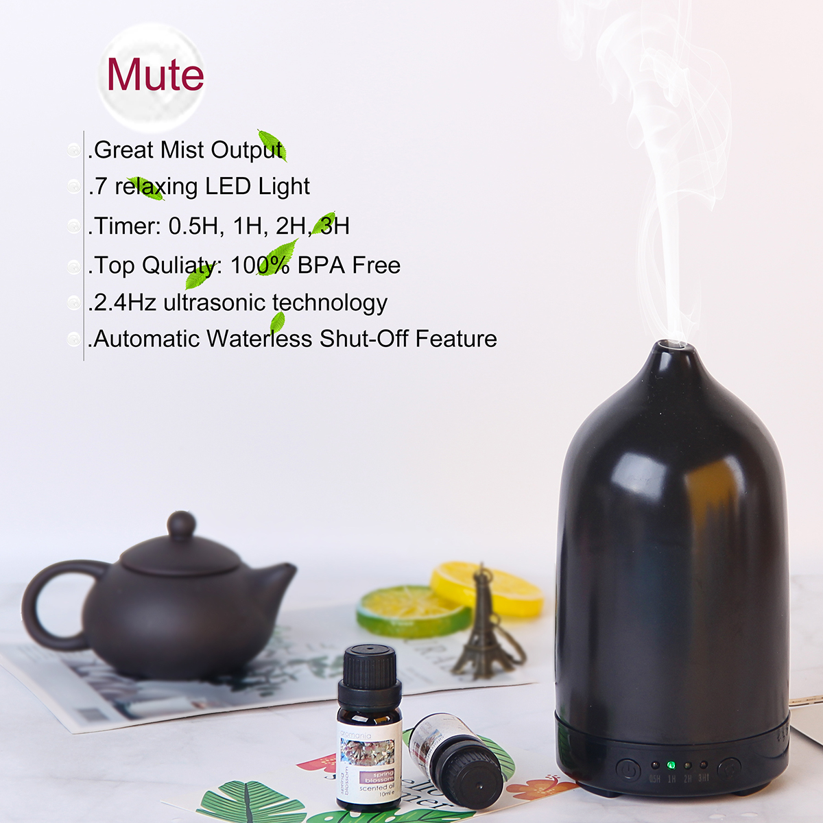 Ceramic Aroma Diffuser Application