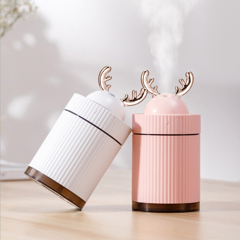 Mini Deer Humidifier Diffuser - HSJ80 title=