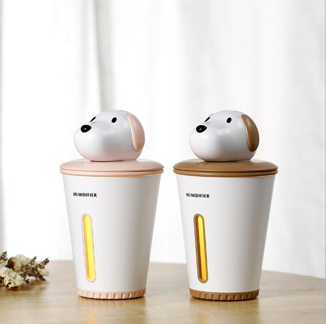 Cute Dog Mini Humidifier Diffuser - HSJ84